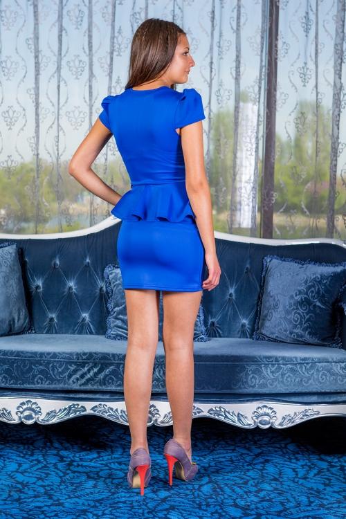 Къса елегантна рокля - Амбър