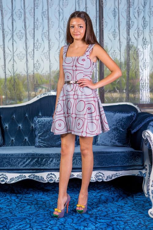 Къса рокля - сукман Елизабет 1