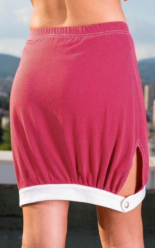 Къса спортна пола