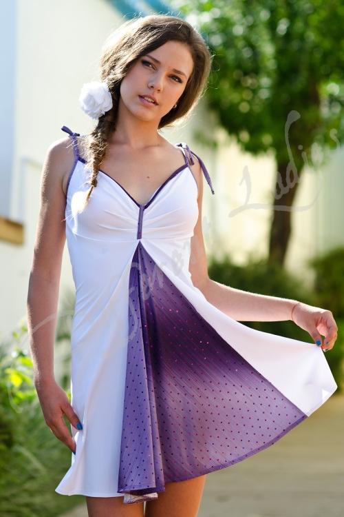 Къса разкроена рокля - Галена