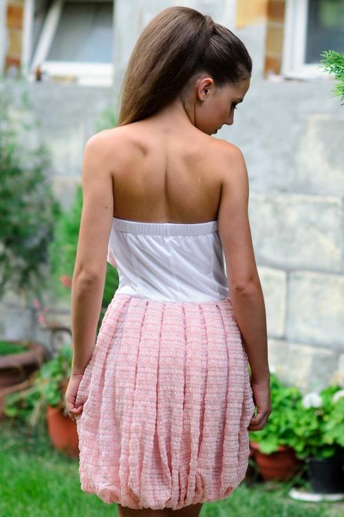 Къса боди рокля балон - Жени