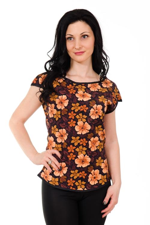 Дамска блуза от памук без ръкав