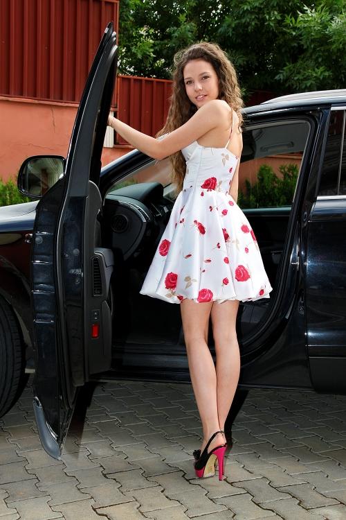 Официална рокля балон - Глория