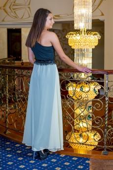 Дълга официална рокля от две части - Силви