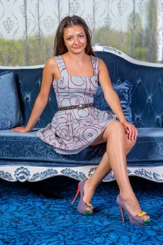 Къса рокля - сукман Карамела
