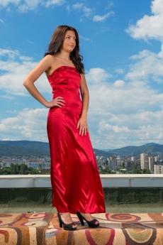 Дълга официална рокля - Фантазия