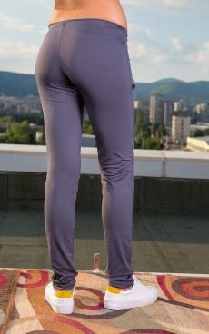 Дамски дълъг клин с платка
