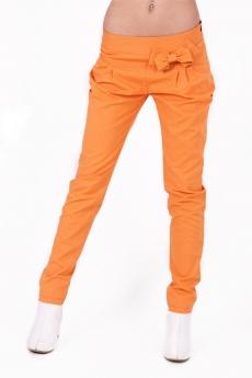 Дамски дълъг панталон с пандела