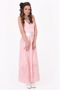 Дълга стилна рокля - Марта
