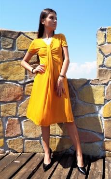 Къса широка рокля - Оливия