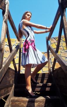 Къса ежедневна рокля - Барбара