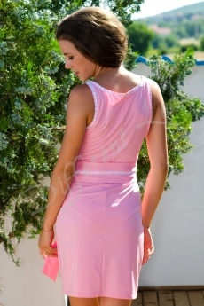 Къса рокля с пояс - Алекс