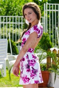 Къса рокля с гол гръб - Анджелина