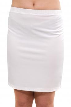 Дамска къса бяла пола