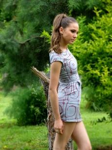 Къса рокля - сукман Аби